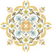 Ozdobny wzór z piękny ornament szczegółowe — Wektor stockowy