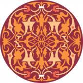 Dekorativní vzor s krásnou detailní ornament — Stock vektor
