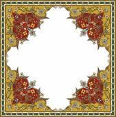 Oosterse sieraad vector ontwerp in kleurrijke naadloze patroon — Stockvector