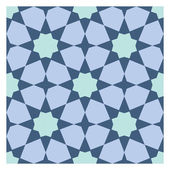 Colorful mosaic pattern, tiling blocks — Vettoriale Stock