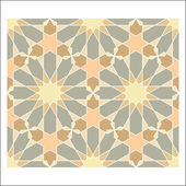 Arabesque pattern, vector tiling blocks — Wektor stockowy
