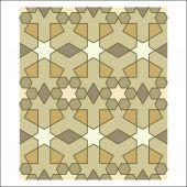 Arabesque pattern, vector tiling blocks — Stock Vector