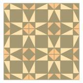 Colorful mosaic pattern, tiling blocks — Stockvektor