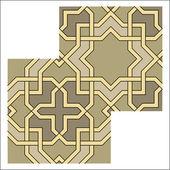 Arabesque pattern, vector tiling blocks — Vecteur