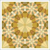 Colorful mosaic pattern, tiling blocks — Stock vektor