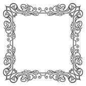 Бланк украсил структуру, древнюю границу стиля — Cтоковый вектор