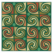Abstract background, decoration pattern, tiled blocks — Wektor stockowy