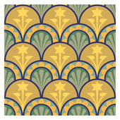 Abstract background, decoration pattern, tiled blocks — Vettoriale Stock