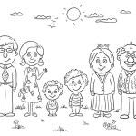 Big happy family — Stock Vector #56515069
