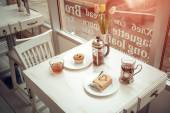 In cafe — Stock Photo