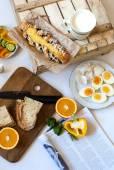 Huevos para el desayuno — Foto de Stock