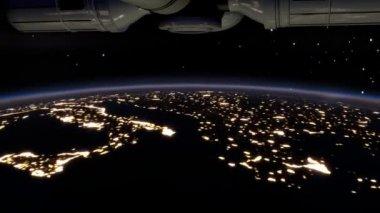 Aurora polaris — Stock Video