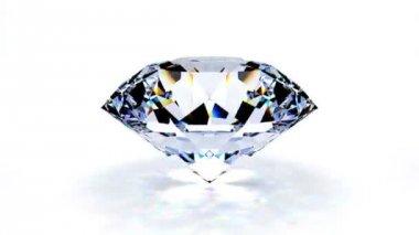 Shining diamond — Stock Video