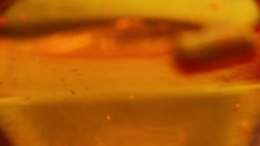 Chemical reaction — Stock Video