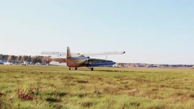 Takeoff field — Vídeo de stock