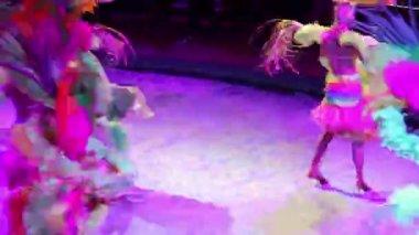 Women dancing — Stock Video