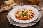 Pasta Bolognese. — Stockfoto