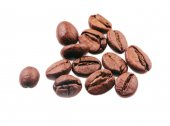 Coffee beans  isolated on white background — Stockfoto