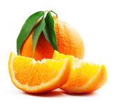 Orange isolated on white — Stock Photo