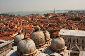 Venice from the campanile of San Marco — Stock Photo