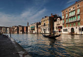Gondola in Canal Grande — Stock Photo