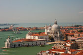 A view of Venice from the campanile of San Marco — Foto Stock
