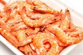 Shrimp fresh seafood — Stock Photo