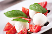 Delicious Caprese salad — Stock Photo