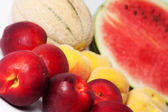 Fresh mixed fruit — Stock Photo