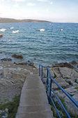 Sunset on the island of Krk — Stock Photo