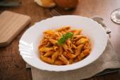 Tasty Pasta Bolognese. — Stock Photo