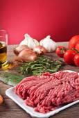 Bolognese sosu için malzemeler — Stok fotoğraf