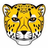 Cheetah head — Stock Vector