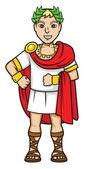 Emperor romans — Stock Vector