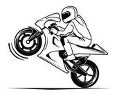 Moto race — Stock Vector