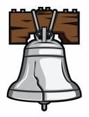 Liberty bell — Stock Vector