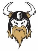 Viking Head — Stock Vector