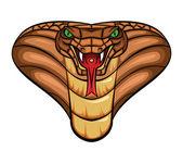 Cobra Vector Illustration — Stock Vector