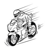 Moto race — Vector de stock