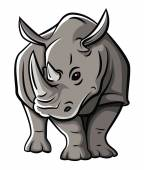 Rhinoceros — Stock Vector