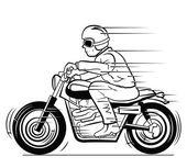 Old Moto — Stock Vector