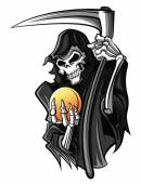 Grim Reaper — Stock Vector