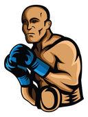Boxer Vector Illustration Design — Stock Vector