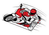Moto-sport — Stockvektor