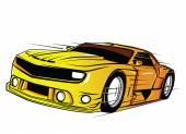 超级跑车 — 图库矢量图片