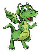 Dzieci Dragon — Wektor stockowy