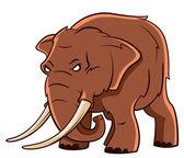 Słoń tułowia — Wektor stockowy