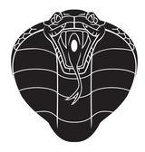 Cobra Snake Tattoo — Stock Vector