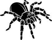 Spider Vector Illustration — Stock Vector