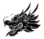 Dragon Head — Stock Vector